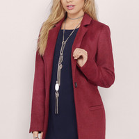 Front Page Blazer Coat $68