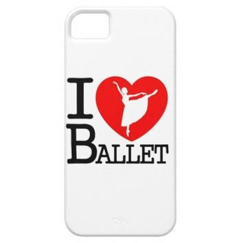I Love Ballet iPhone 5 Cases