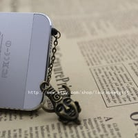Dean winchester hyperphysical Supernatural dustproof plug, 3.5mm, for Samsung Blackberry HTC iPhone 4/4S,iPhone 5