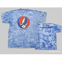 Grateful Dead Steal Your Face Crinkle Dye T-Shirt