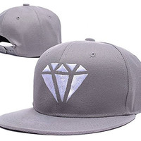 YANYQ Fifth Harmony Diamond Logo Adjustable Snapback Embroidery Hats Caps