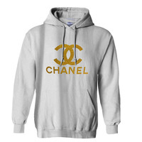 Chanel Gliter Gold Hoodie for Mens Hoodie and Womens Hoodie ***