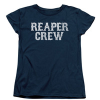 Sons Of Anarchy  Reaper Crew Girls Jr Navy Rockabilia