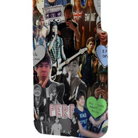 Best 3D Full Wrap Phone Case - Hard (PC) Cover with 5 Seconds Of Summer 5SOS Collage Fun Art Design