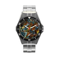 Three 4e Swirl and Modern art Wrist Watches from Zazzle.com
