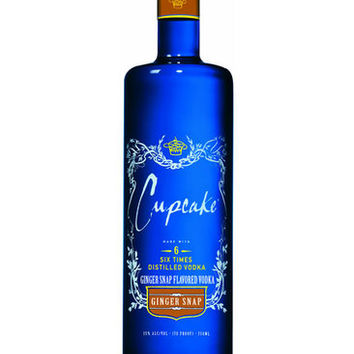 Cupcake Ginger Snap Vodka 750ML