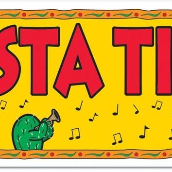 fiesta time! sign banner Case of 12