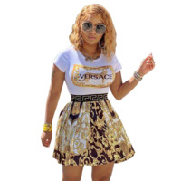 VERSACE Women Short Sleeve Dress