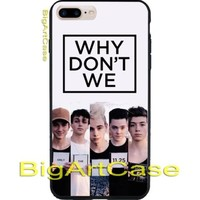 Best Hot Why Don't We Custom Poster Art CASE COVER iPhone 6s/6s+/7/7+/8/8+, X