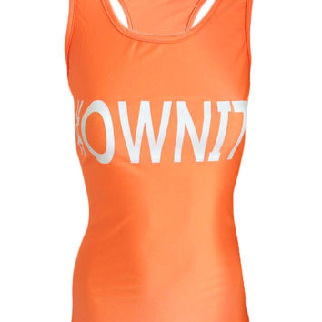 #OWNIT - Orange - Beach Fitness Tank Top
