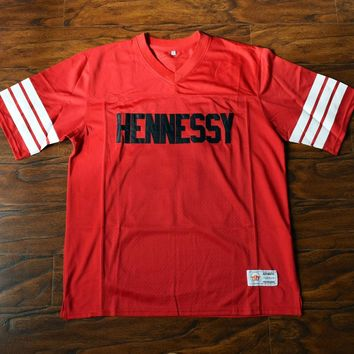 Queens Bridge #95 Hennessy Football Jersey