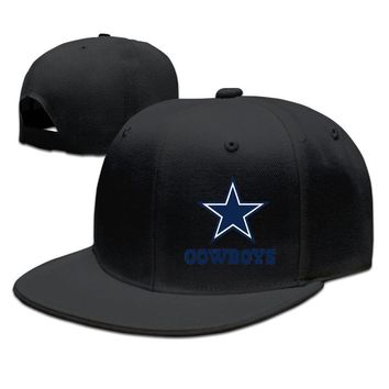 DALLAS COWBOYS Logo Official Funny Unisex Adult Womens Hip-hop Cap Mens Snapback Caps