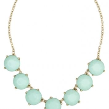 Mint Bauble Statement Necklace | Girls Necklaces Jewelry | Shop Justice