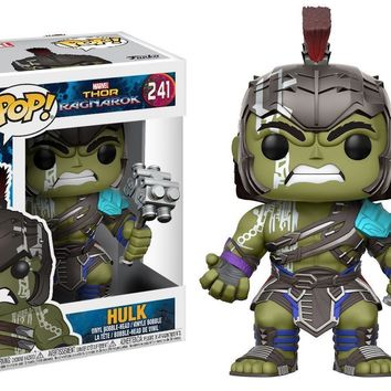 Funko Pop! Marvel: Thor Ragnarok Hulk Helmeted Gladiator   241 13773