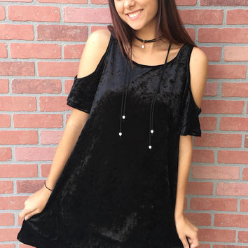 Party Like A Rock Star Dress- Black