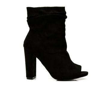 Classy And Sassy Bootie - Black