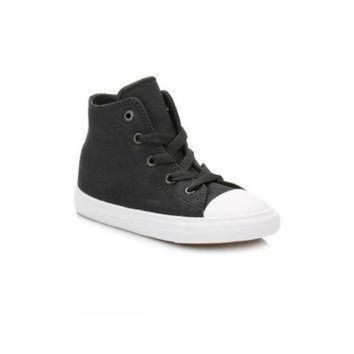 CREYON converse all star chuck taylor ii infant black white hi top trainers