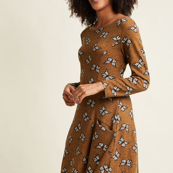 Can't Wing 'Em All Sweater Dress