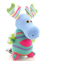Handmade  Personalized   Moose  for kids  Stuffed Animal children  Plush Toy  sock doll   Ready to Ship  6#