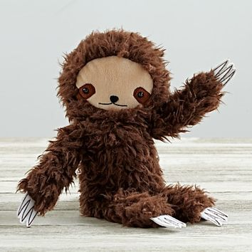 Plush Sloth by Bijou Kitty | The Land of Nod