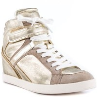 Guess Shoes Perina 9 - Gold Leather