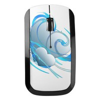 Heart Swirls Wireless Mouse