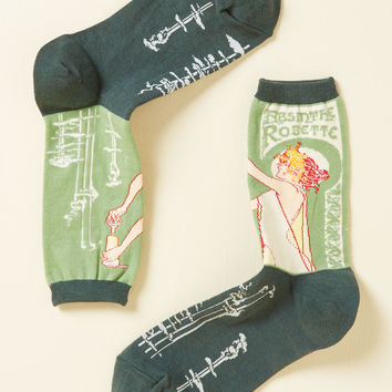 Be Distill My Heart Socks | Mod Retro Vintage Socks | ModCloth.com
