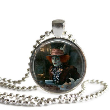 Alice In Wonderland Necklace The Mad Hatter Tea Party
