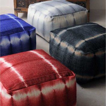 Ronaldo Pouf - Buy Hand Woven Wool Rug Online Free Shipping – The Rug Republic
