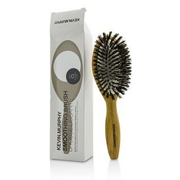 Kevin.Murphy Smoothing.Brush - ARC 70mm - Boar & Ionic Bristles, Sustainable Bamboo Handle (Box Slightly Damaged) Hair Care