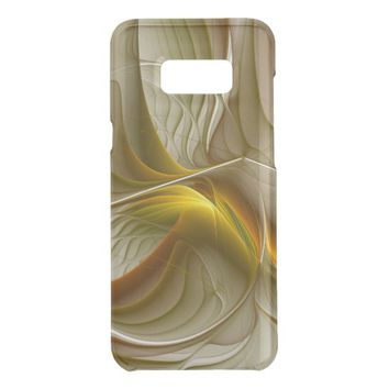Colors of Precious Metals, Abstract Fractal Art Uncommon Samsung Galaxy S8+ Case