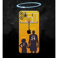MAMBA // Yellow - Non-Profit Memorial Skin-Kit for the Apple iPhone 11, 11 Pro or 11 Pro Max (All iPhone versions available)