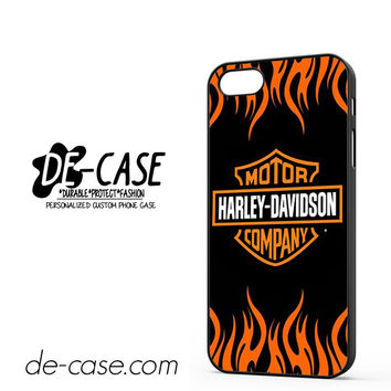 Harley Davidson Flame Logo DEAL-5043 Apple Phonecase Cover For Iphone 5 / Iphone 5S