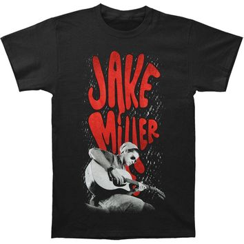 Jake Miller Men's  Jaked Photo Slim Fit T-shirt Black