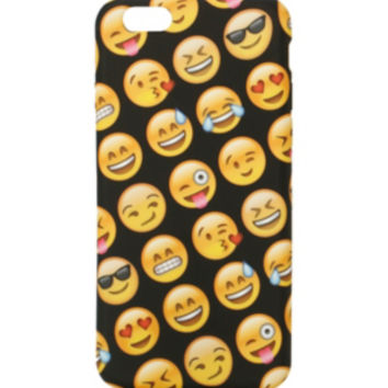 Emoji Faces Anti Shock iPhone 6 Case