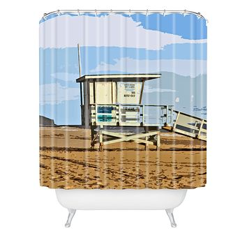 Deb Haugen Big Dune Shower Curtain