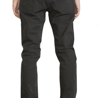 Shop RVCA Daggers Twill Pants in Black | Jack's Surfboards