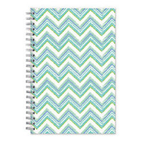 Blue Sky 50percent Recycled Academic WeeklyMonthly Planner 5 x 8 Caitlyn Frosted July 2014 June 2015 by Office Depot