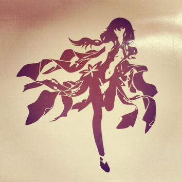 Guilty Crown Inori Yuzuriha Anime Vinyl Decal Sticker