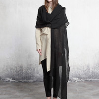 Thin Cotton Oversized Scarf