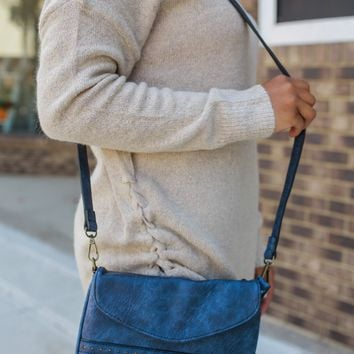 Fanfare Crossbody Bag - Navy