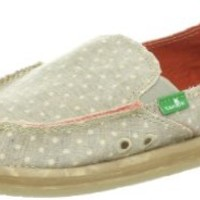 Sanuk Women's Dotty Slip-On,Tan,5 M US