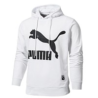 Trendsetter Puma Men Fashion Casual Top Sweater Pullover Hoodie