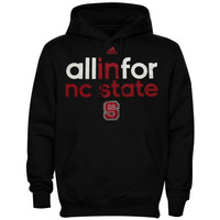 NC State Wolfpack adidas Ultimate All In For Hoodie – Black