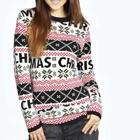 Tammy Christmas Fairisle Tunic Jumper
