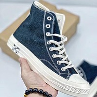 Trendsetter Converse Fear Of God  Women Men Fashion Casual High-Top Canvas Shoes