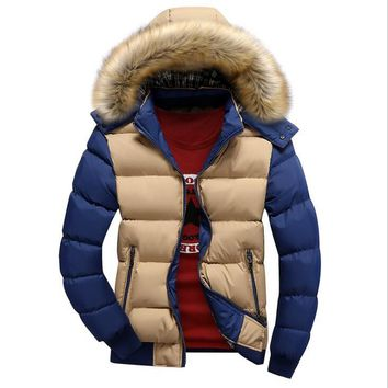 Men's Winter Warm Down Jackets And Coats Men Windproof Thick Veste Breathable