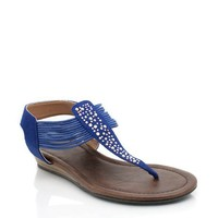 embellished-t-strap-sandals TBLUE - GoJane.com