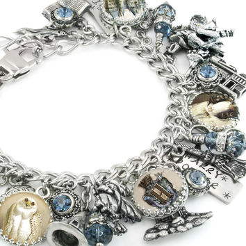Harry Potter Wizard School charm bracelet