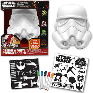 Star Wars DIY Design Stormtrooper Helmet